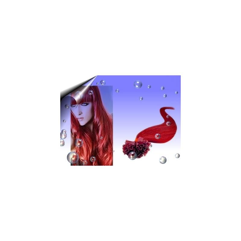 Haar Extension ~ Echthaarsträhnen Rot