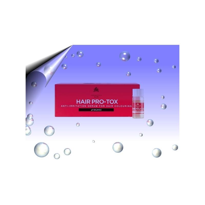 Haarampullen gegen Haarfarbe Irritation & Regeneration